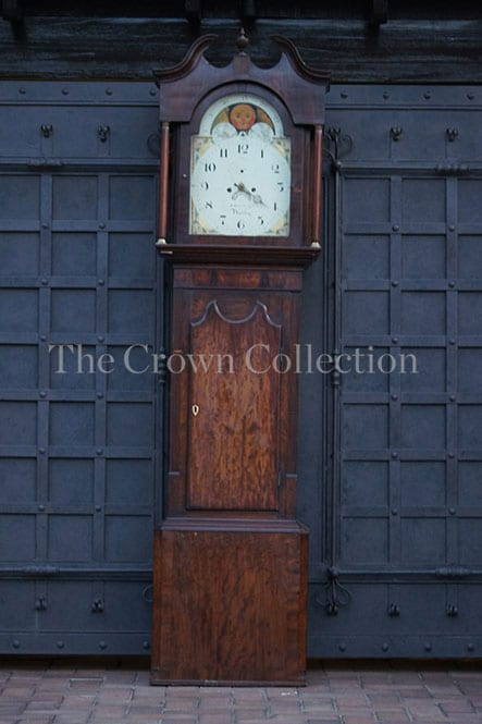 English Longcase Grandfather Clock