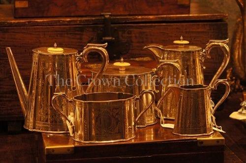 Set of 5 Walker & hall tea set