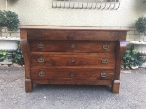 19th Century Continental Mahogany Chest of Drawers