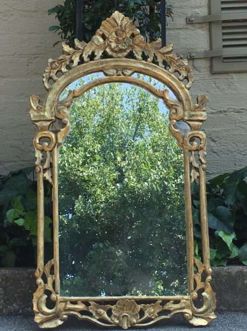 Gilded Ornate Mirror - ND