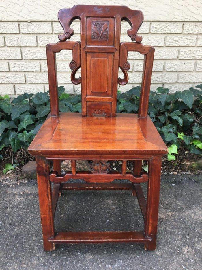 Antique Rosewood Bathroom Chair