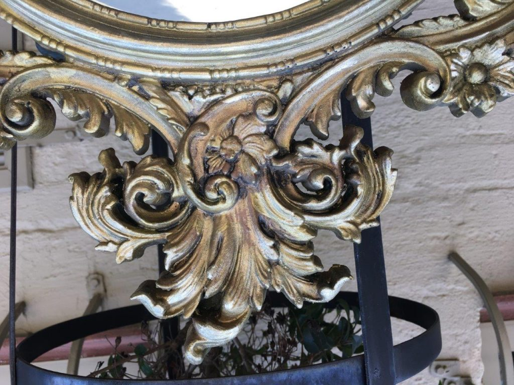 Frames Amp Mirrors French Style Oblong Gilt Wall Mirror