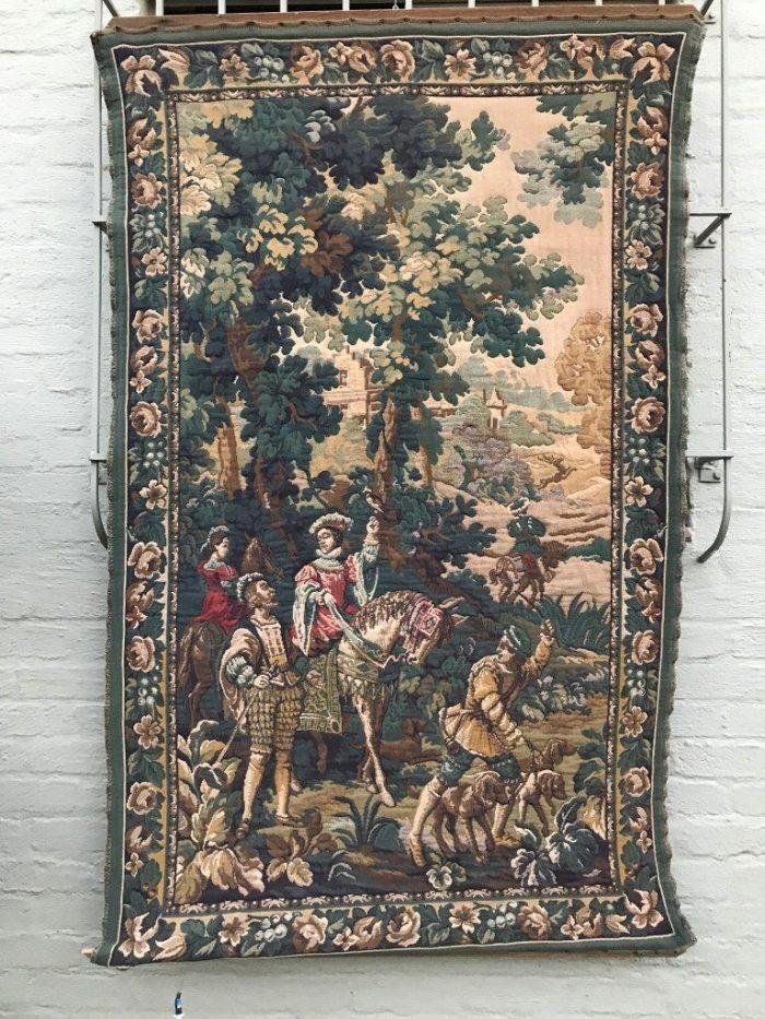 Vintage Flemish Tapestry