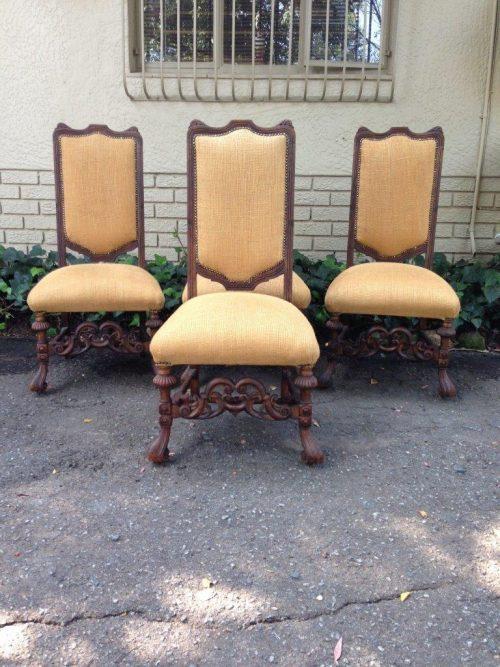 Spanish Oak Side Chair