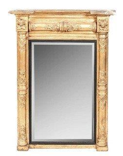 A Regency Giltwood Mirror