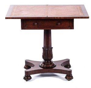 A William IV Mahogany Writing Table