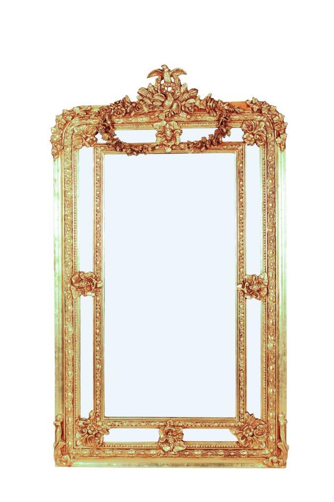 Carved and Gilded Ornate Mirror