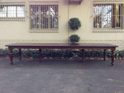 Victorian style Mahogany 16 seater 4 meter table