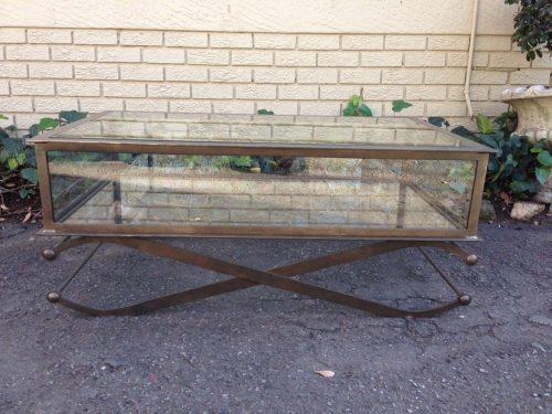 Wrought Iron Display Coffee Table