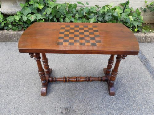 Victorian Chess Table