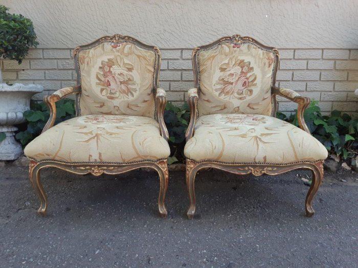 Upholstered In Tapestry