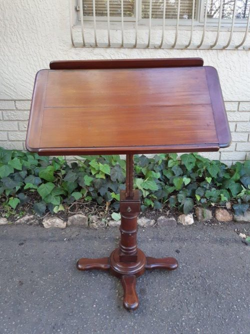 Victorian Mahogny Reading/Music Stand