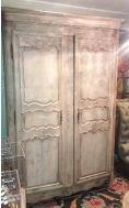 A 19th Century Bleached Provincial Armoire