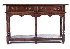 A George Ii Oak Dresser