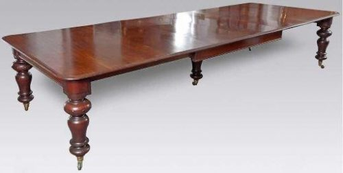 A Victorian Mahogany Extension Dining Table