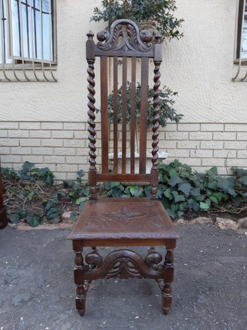 A 19th Century Oak Chair