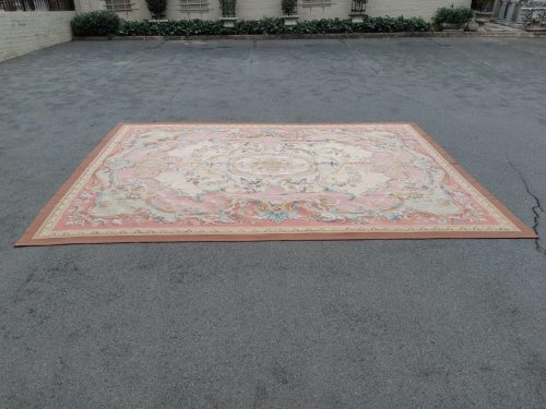 An Aubusson Carpet Hand Knotted