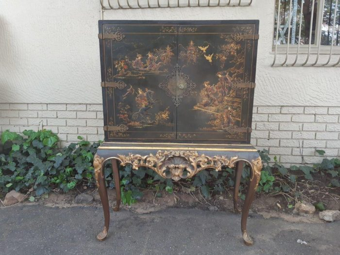 On Painted French Stand