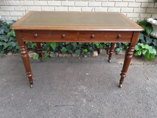 Victorian mahogany desk/table
