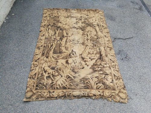 19th Century Antique French Tapestry