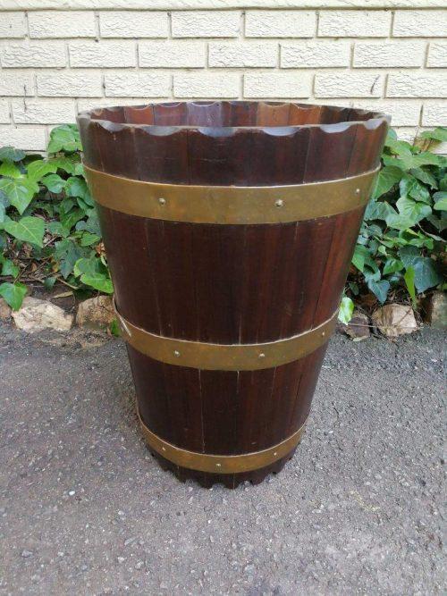 Large Stinkwood And Brass Bound Balie