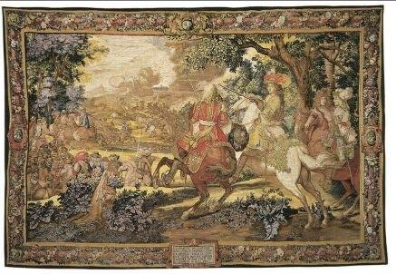 Le Canal De Bruges Tapestry Ateliers Hand Woven French Tapestry