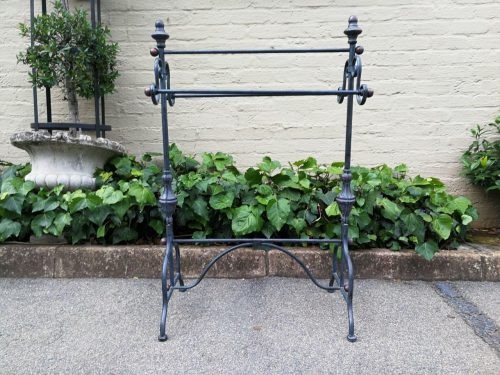 A Metal Towel Holder/Stand