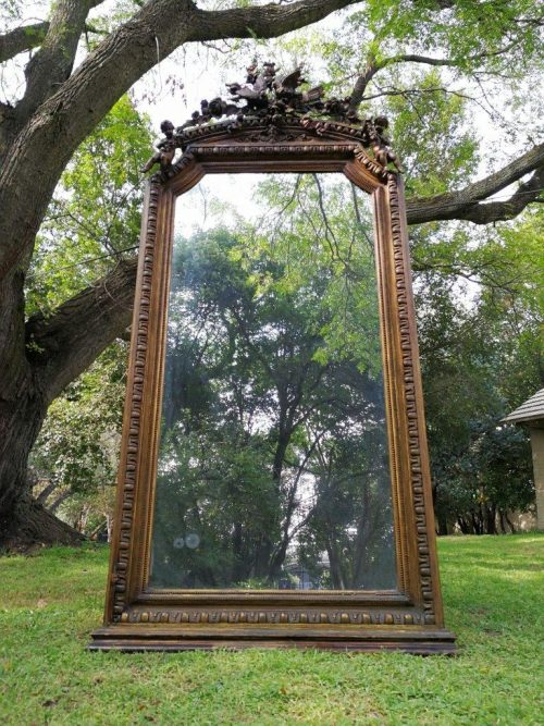 A 19th Century Giltwood Mirror - ND
