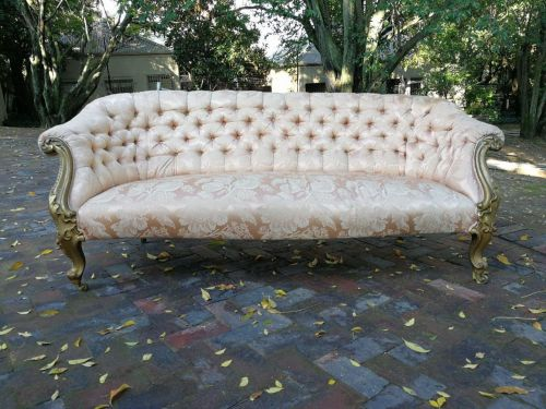 A French Gilded Settee*Still To Be Reupholstered*
