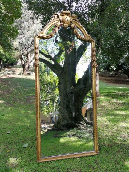 Early 20th century massive gilded wall mirror - ND
