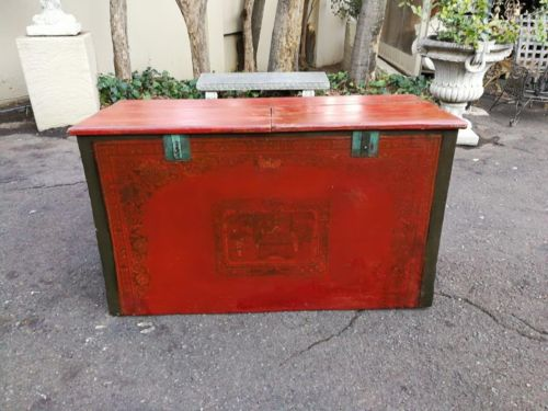 A Chinese Decorative Chest