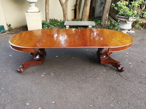A William Iv Mahogany Extension Dining Table