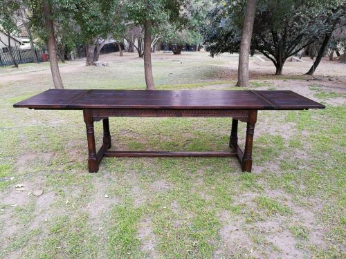 An 18th Century Extending Refectory Table