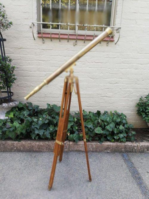 A Stanley London Brass Telescope