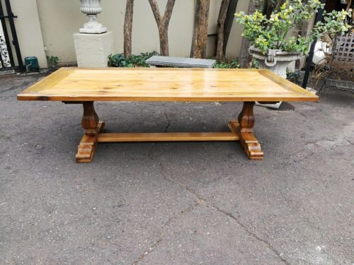 A Yellowwood And Stinkwood Pierre CronjeEntrance / Dining / Refectory Table