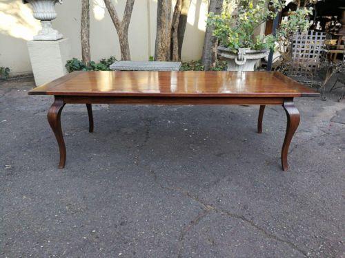 A 20th Century Sapele Mahogany Dining Table / Desk / Table