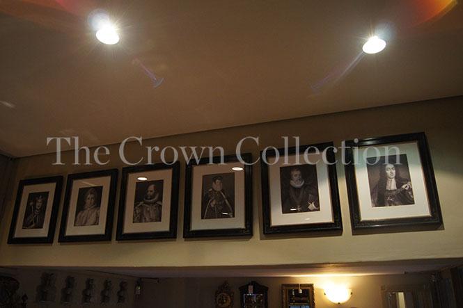 Framed King Portraits