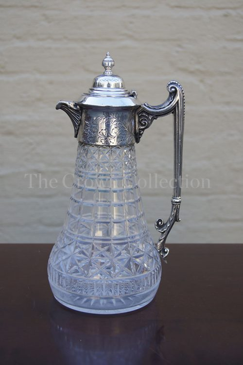 Antique Victorian Claret Jug