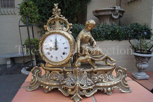 Brass Italian Clock