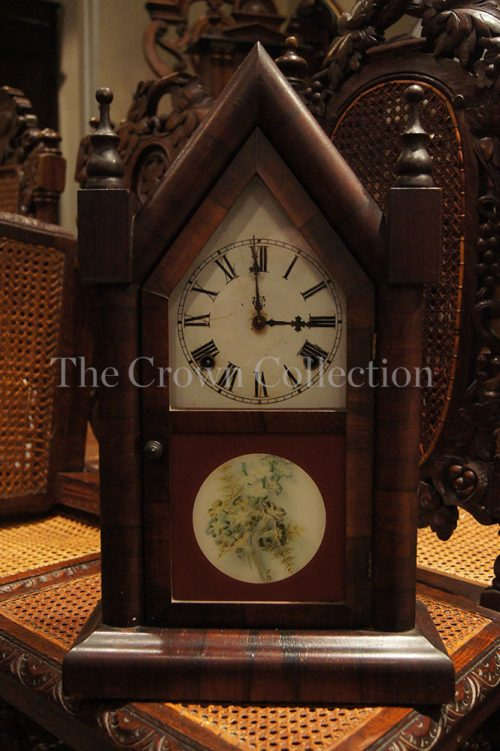 Antique Steeple Clock Circa 1850