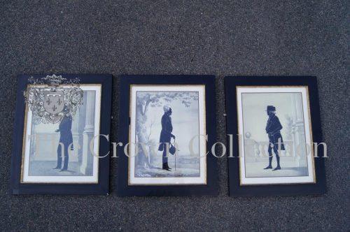 Set of 3 Gentleman's Framed Prints