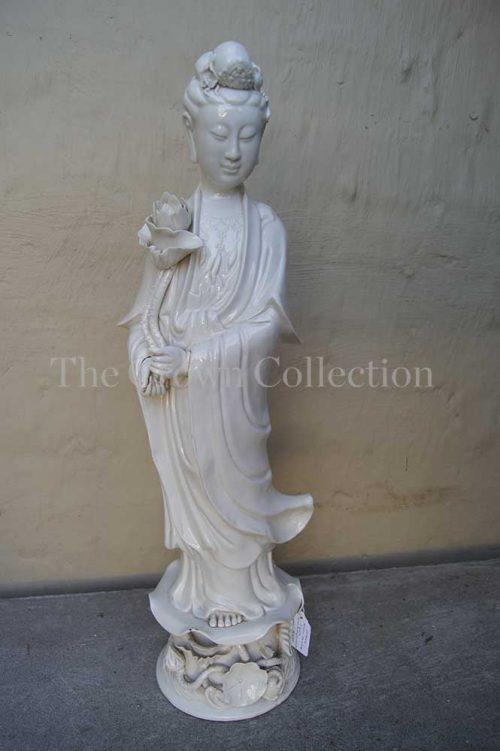 Chinese Blanc de Chine Figurine (slight damage)