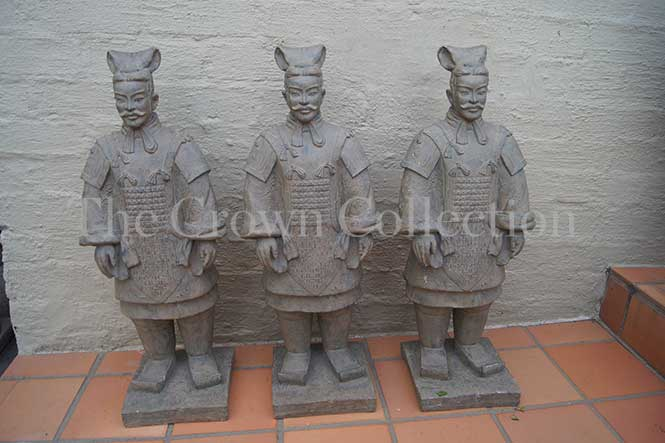 Set of 3 Chinese Style Warriors