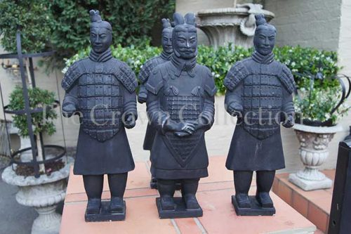 Set of 4 Terracotta Warriors