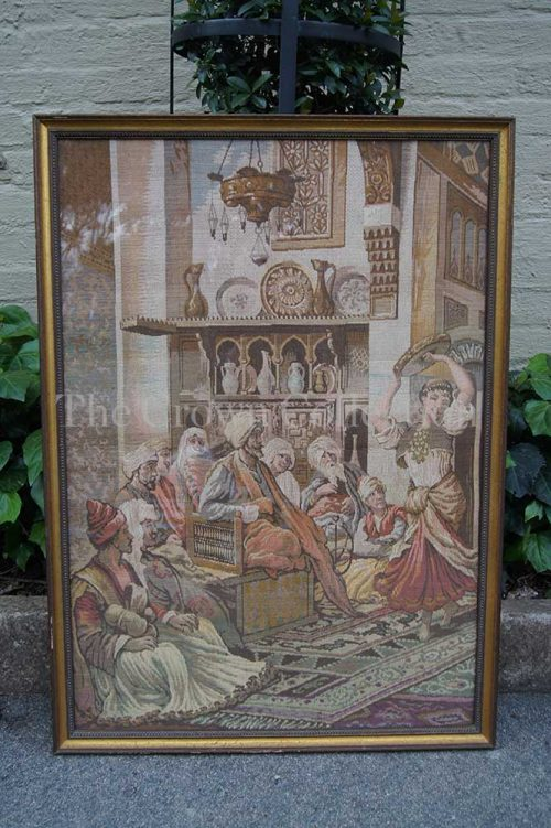 Framed French Tapestry
