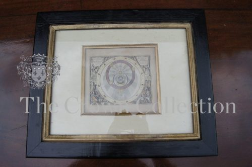 Planisphere Framed Picture