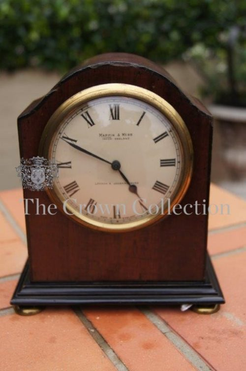 Mahogany Mantle Clock Mappin & Webb ND