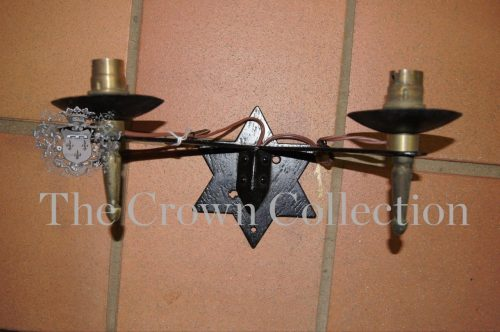 Wall Sconce with Star