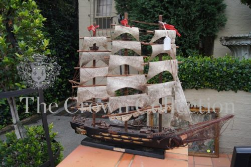 Wood Model of a Spanish Ship