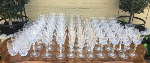 Set of 64 Nachtmann Glasses